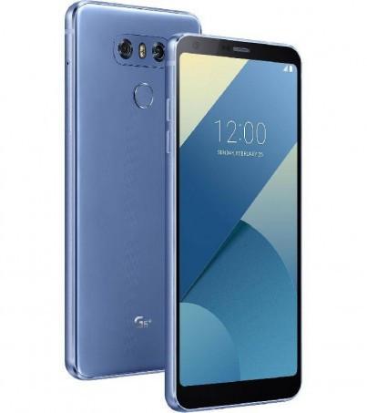 Смартфон LG G6 64GB Blue (LGH870DS.ACISBL)