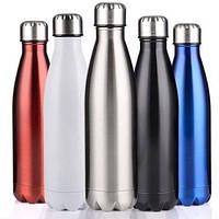 Спортивная бутылка для воды термос фляга Cola Vacuum Flask V02 500ml для путешествия и кемпинга, фото 1