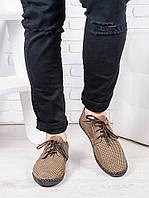 Мужские летние кожаные туфли 6945-28, фото 1