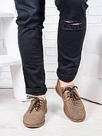 Мужские летние кожаные туфли 6947-28, фото 1