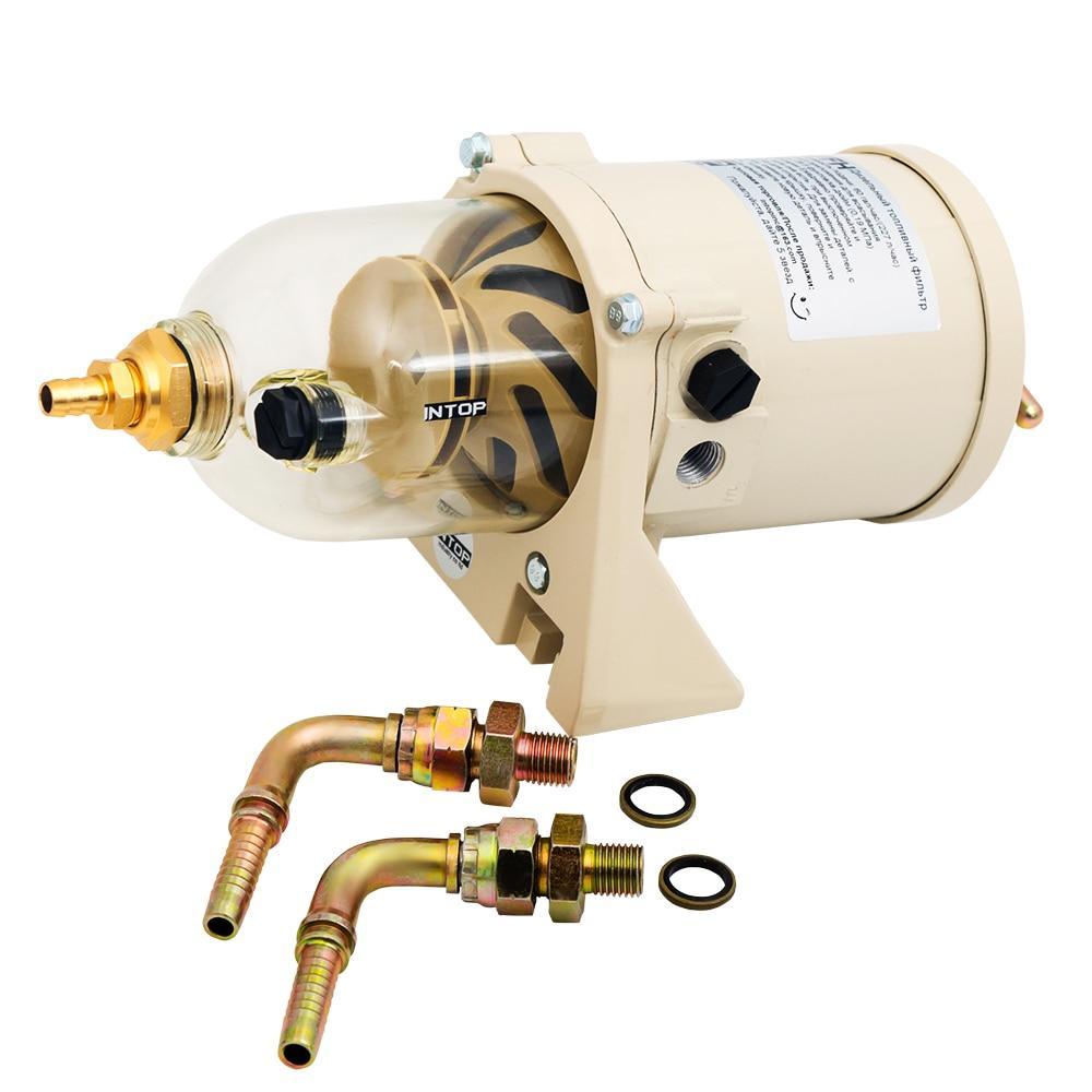 Фильтр сепаратор дизельного топлива с подогревом для грузового транспорта, спецтехники, сельхозтехники