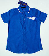 Рубашка-шведка  для мальчика рост 110-122 cм, фото 1
