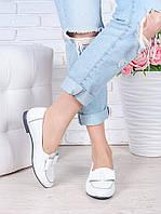 Туфли белые кожаные Bant 7035-28, фото 1