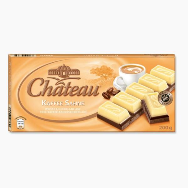 Шоколад Chateau Kaffee Sahne Кофе Сливки 200гр. Германия
