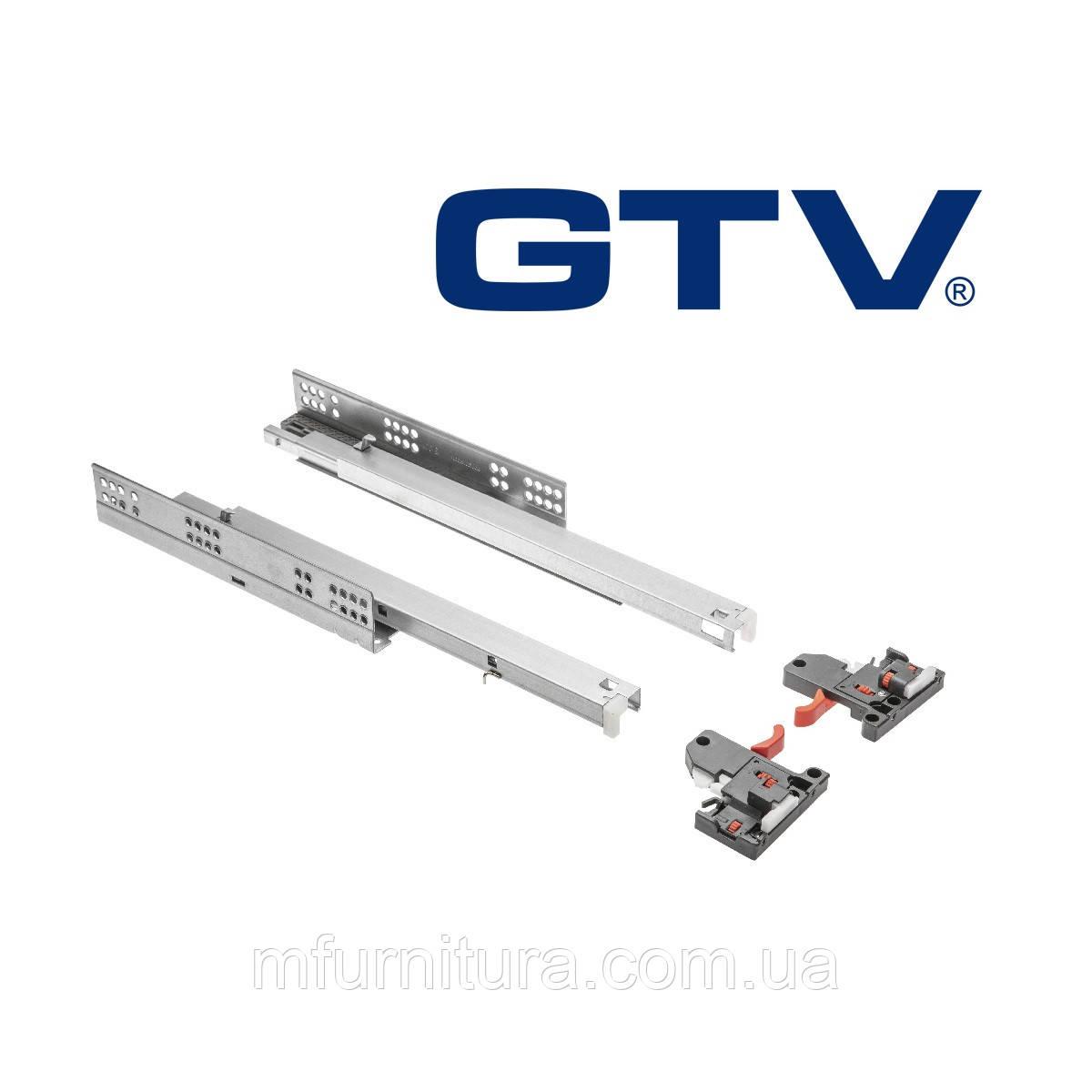 Напр. ModernSlide 400 мм, полн. выдв.(18 мм)(PB3D0SHX18-400-H) (комплект) - GTV (Польша)