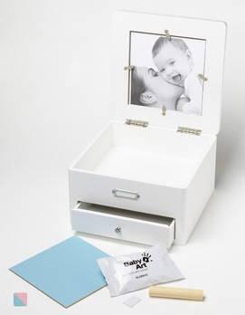 Шкатулочка со слепком Baby art