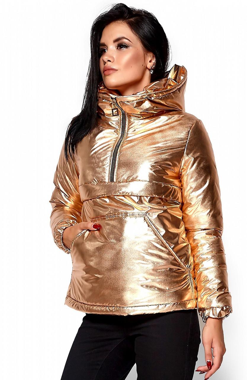 04b790bd84b Куртка-анорак KARREE Мишель M Золотистый KAR-KV00002
