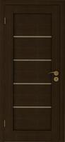 Двери межкомнатные  Горизонталь У(беленый дуб,венге)
