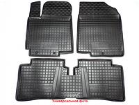 Оригинальные резиновые коврики для Volkswagen Polo Седан с 2009-