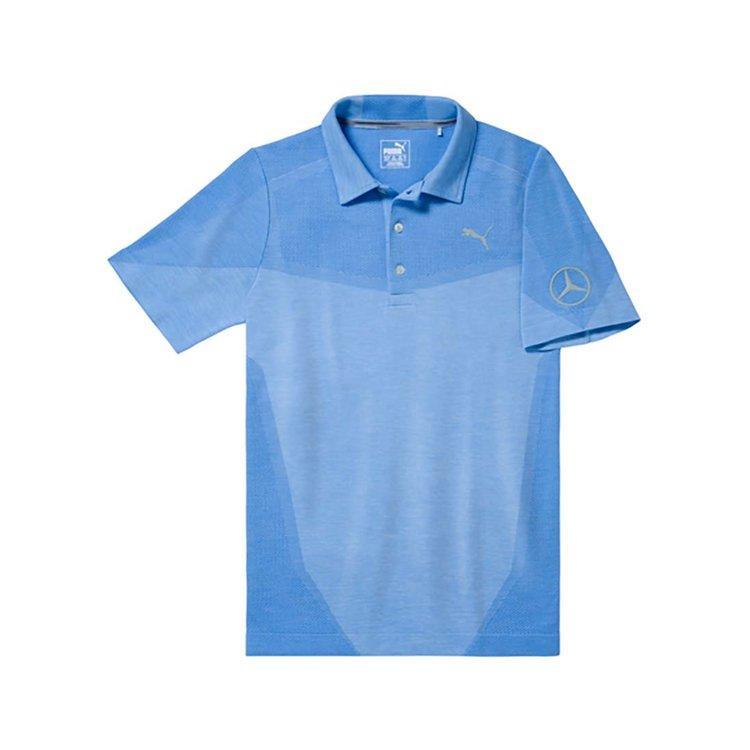 Чоловіча сорочка-поло Mercedes Men's Golf Polo Shirt, Blue, (B66450317)