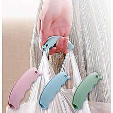 Силиконовая ручка для удобной переноски пакетов, сумок с продуктами