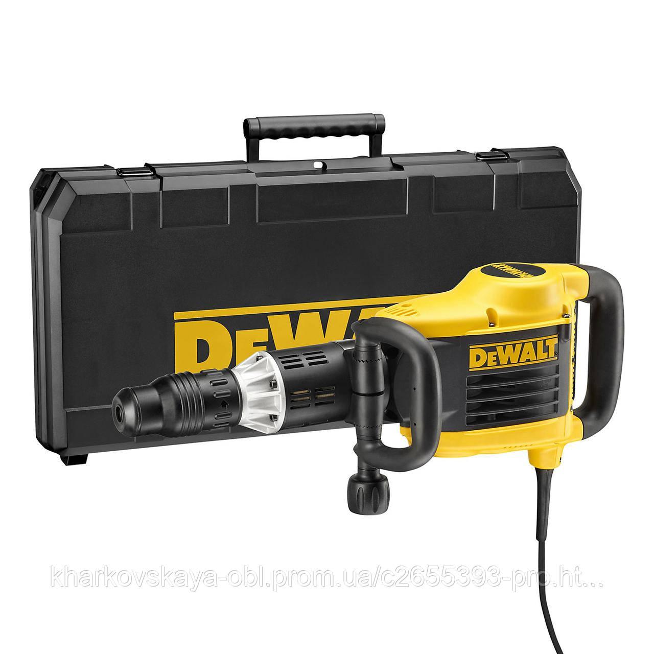 Отбойный молоток DeWalt SDS MAX привезен из Англии