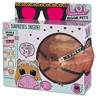 L.O.L. Surprise! Biggie Pets Л.О.Л. Сюрприз 4 серия Большие Питомцы ЛОЛ DJ Хома
