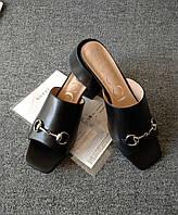 Мюли GUCCI на каблуке, фото 1