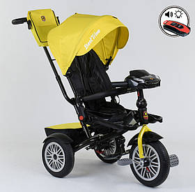 Трехколесный велосипед Best Trike 9288 Бест Трайк, желтый