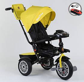 Триколісний велосипед Best Trike 9288 Бест Трайк, жовтий