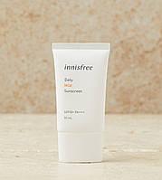 Солнцезащитный крем для лица Innisfree Daily Mild Sunscreen SPF50+ PA++++