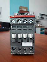 Контактор ABB трёхполюсный AF09z-30-10-21 4кВт 9А