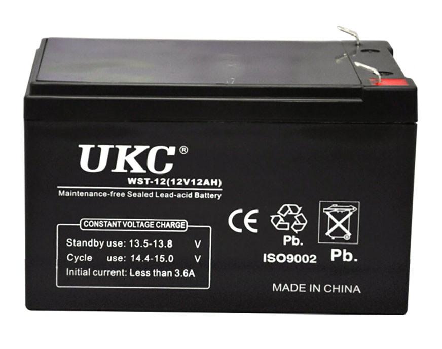 Акумулятор UKC 12V 12Ah WST-12 RC201502