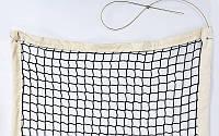 Сітка для великого тенісу (р-н 12,8х1,08м, осередок 5х5см, з метал.тросом)