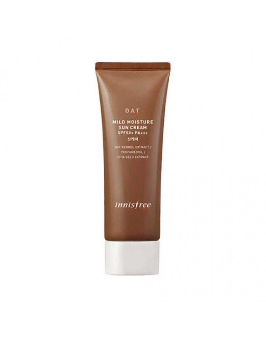 Увлажняющий солнцезащитный крем Innisfree Oat Mild Moisture Sun Cream SPF50+ PA+++