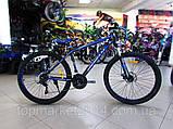 """Горный велосипед Benetti Pronto DD 26"""" черно-лимонный (ХАРДТЕЙЛ), фото 6"""