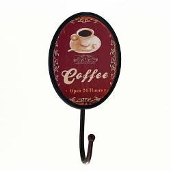Вешалка-крючок «Кофе», 19 см, метал