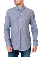Рубашка мужская приталенная с цветочным узором Pierre Cardin оригинал! 44