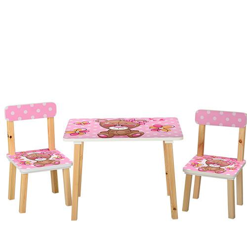 Столик 501-9 Розовый BAMBI