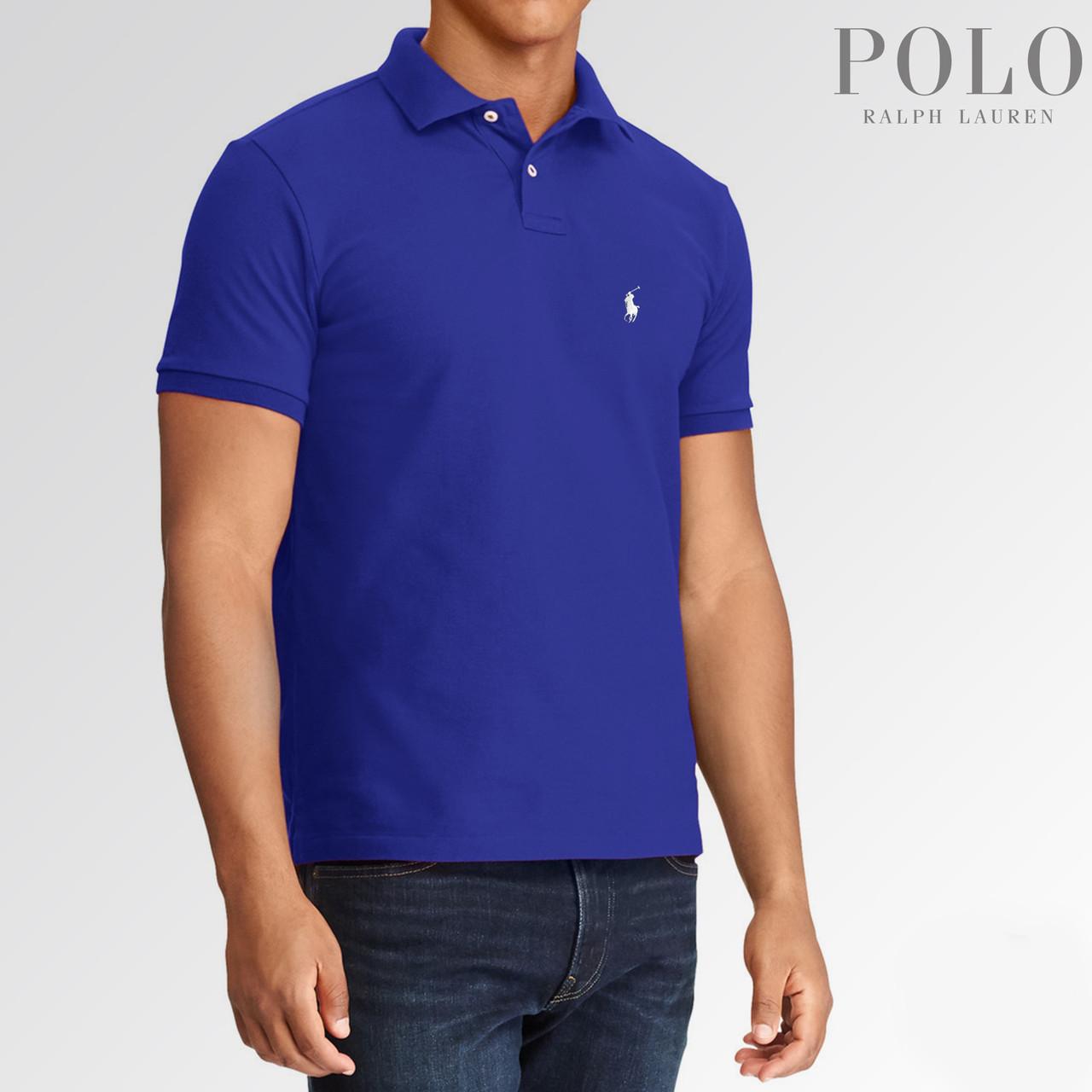 Футболка поло Ralph Lauren логотип вышивка топ релпика