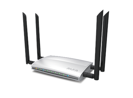 ALFA AC1200R 802.11ac Dual Band Wide-Range Wi-Fi Router , фото 2