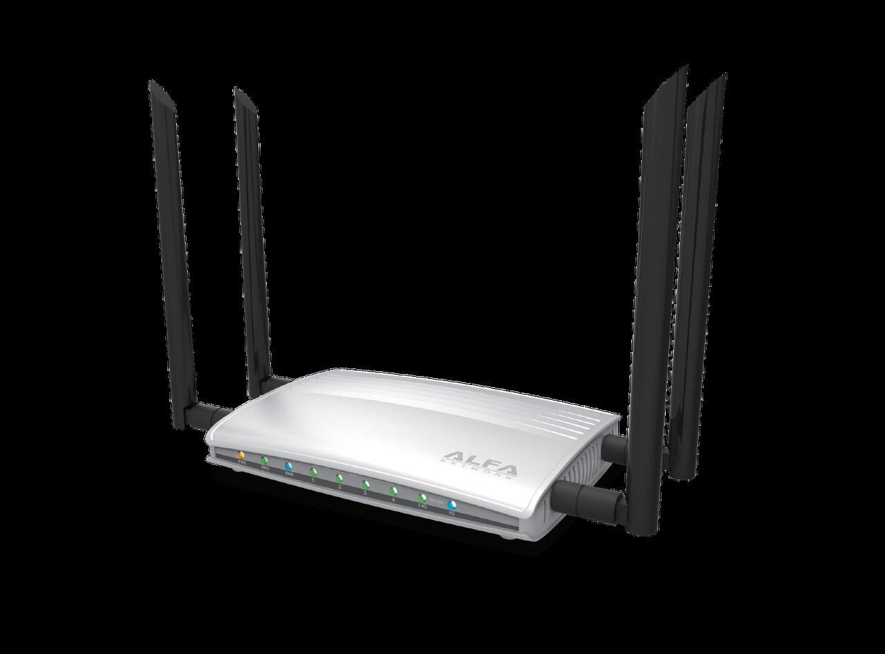 ALFA AC1200R 802.11ac Dual Band Wide-Range Wi-Fi Router