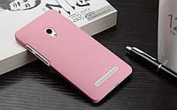 Чехол накладка бампер для Asus Zenfone 6 розовый, фото 1