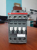 Контактор ABB трёхполюсный AF12z-30-10-21 5,5 кВт 12А