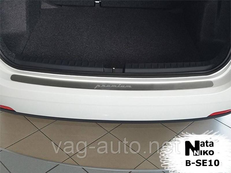 Захисна Накладка на задній бампер Seat IBIZA IV COMBI 2010>>