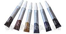 Краска для бровей и ресниц, Thuya, 14 ml, Туя, черная, иссиня-черная, коричневая, графит