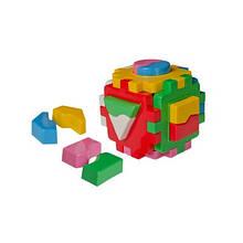 Куб Розумний малюк Логик1 ТехноК логіка сортер