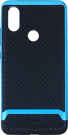Накладка Xiaomi Mi A2/6X Black/Blue Hybrid iPAKY