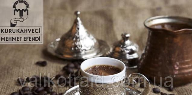 Кофе турецкий  молотый MEHMET EFENDI KURUKAHVECI 6*12 г