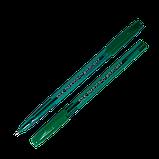 Ручка масляная Silk синяя BM.8358-01, фото 3