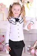 Шкільна блуза для дівчинки, фото 1