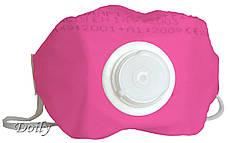 Полумаска для мастера маникюра Doily с клапаном 113 FFP1 (Розовая)