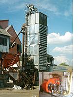 Зерносушилки, установки активного вентилирования