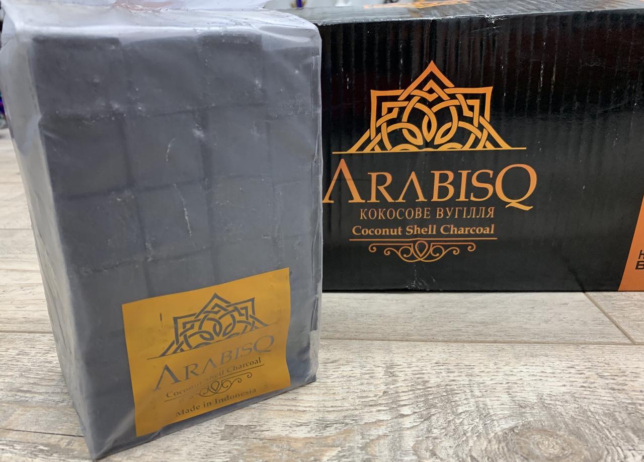 Уголь кокосовый для кальяна Arabisq, 1 кг