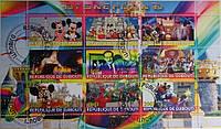 """Джибути Блок """"Disneyland"""" 2010 г."""