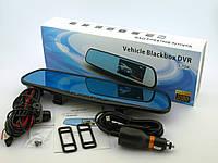 Камера зеркало видеорегистратор 2 две камеры 4,3 с камерой заднего вида регистратор автомобильный