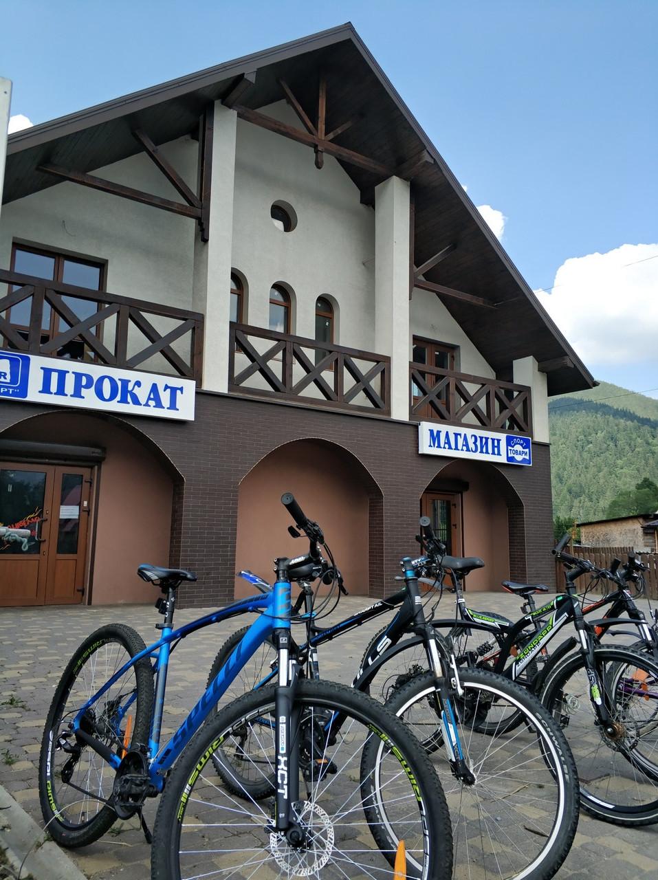 Прокат гірських велосипедів| оренда велосипедів| гірські велікі у карпатах