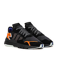 Мужские кроссовки Adidas Nite Jogger Boost Core Black (Реплика)