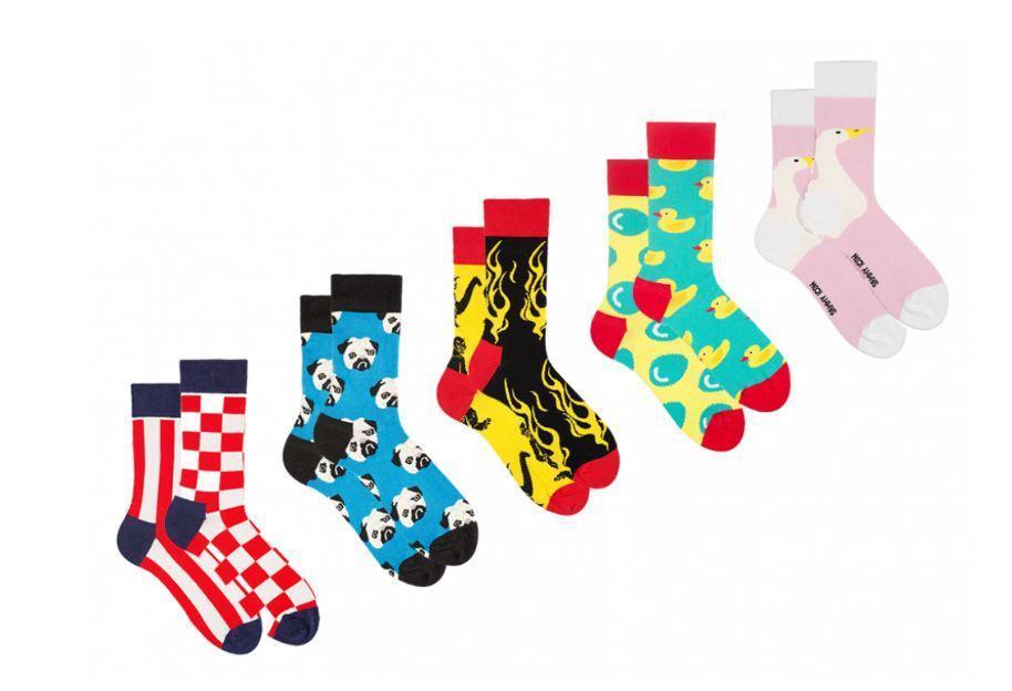 Шкарпетки Sammy Icon набір гедоніста 40-46, 5 шт