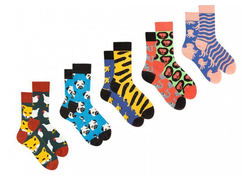 Шкарпетки Sammy Icon набір супергероя 36-40, 5 шт